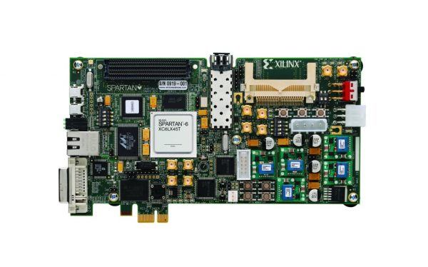 Xilinx Spartan-6 FPGA Embedded Kit