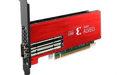 Xilinx Alveo U50 – новый ускоритель для ЦОД