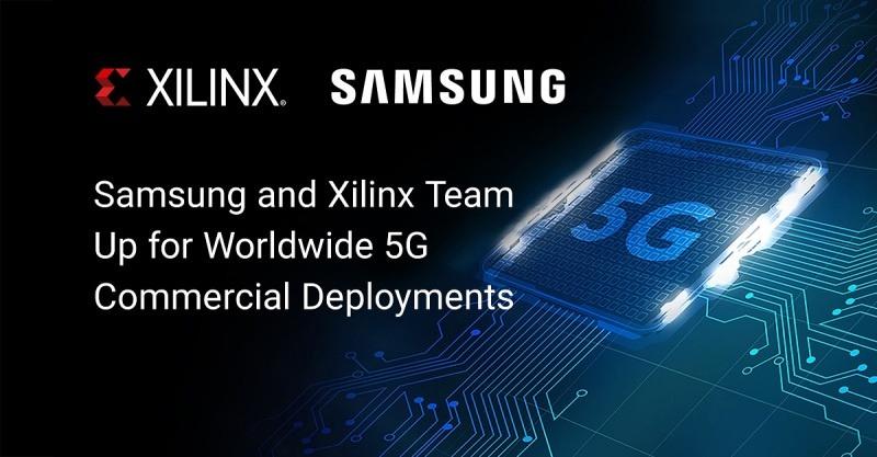 Компании Xilinx и Samsung совместно занялись построением первой в мире, коммерческой сети 5G.