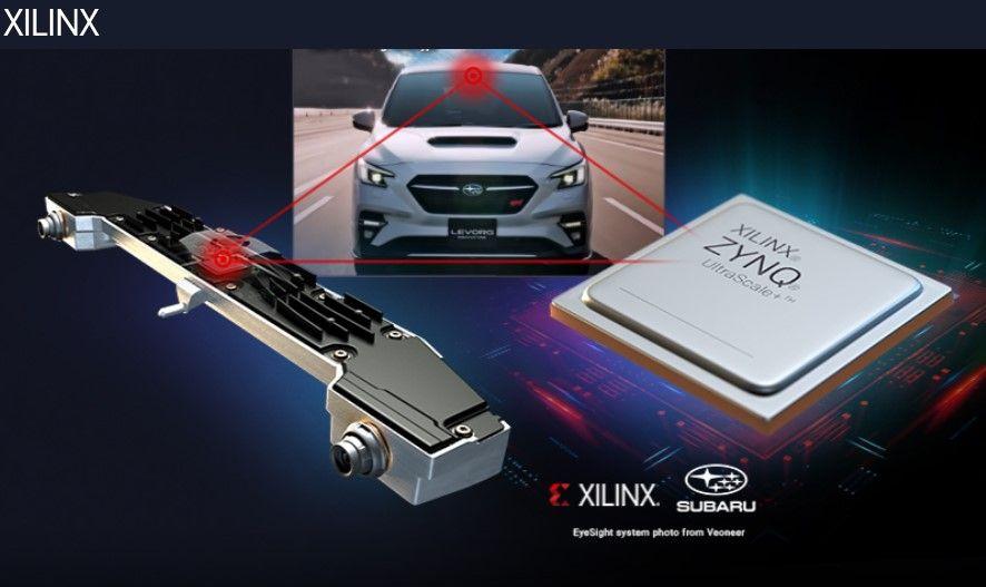 Xilinx в управлении автомобилями